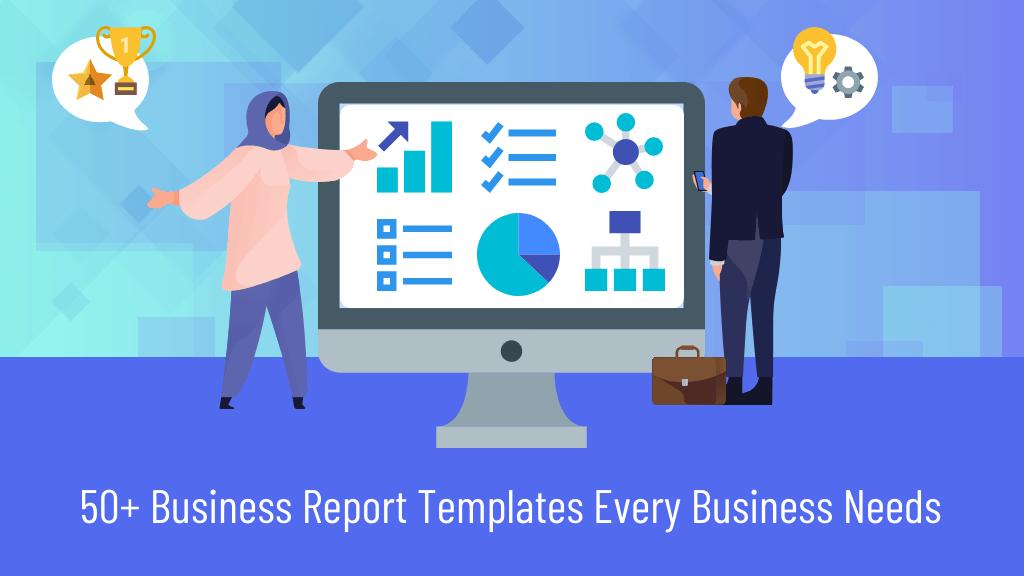 50+ Business Report Templates Every Business Needs Blog Header