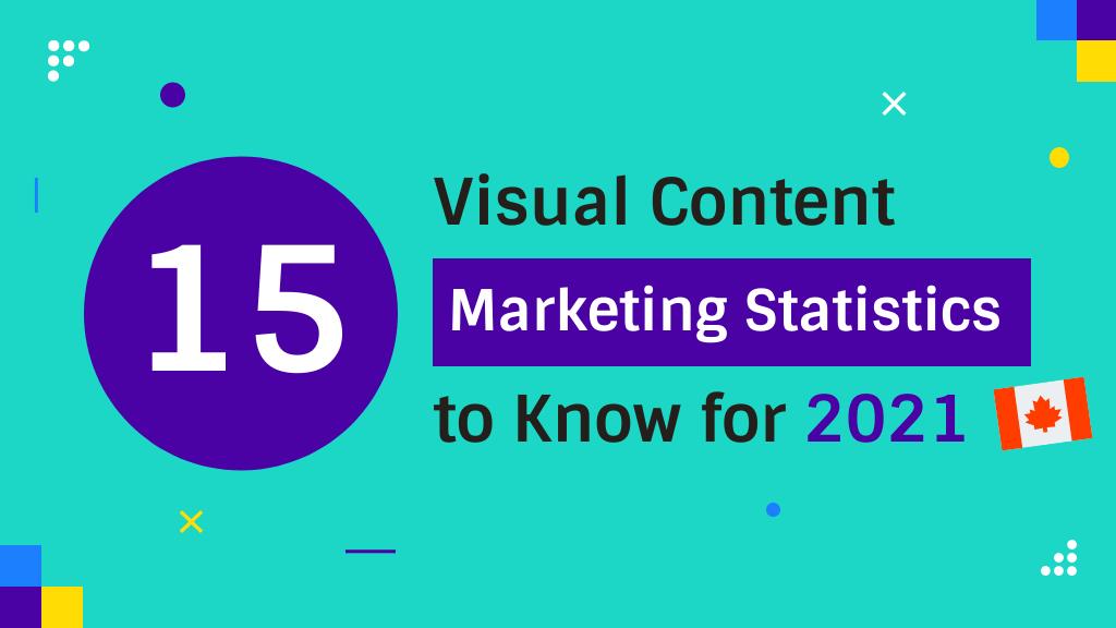 Visual Content Marketing Statistics Canada