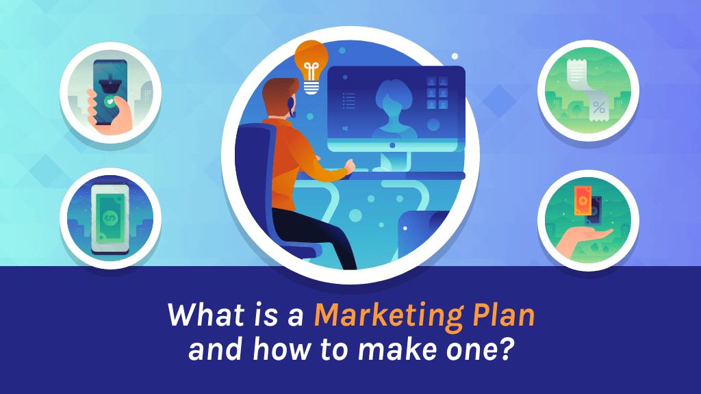 What is a marketing plan blog header