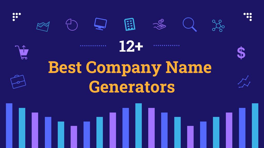 12+ Best Company Name Generators Blog Header