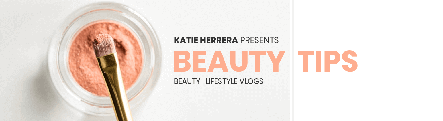 Beauty Tips YouTube Banner Template