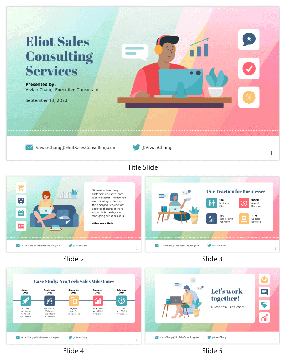 Consulting Pitch Deck
