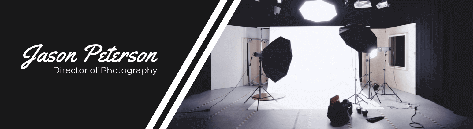 Photographer Youtube Banner Template