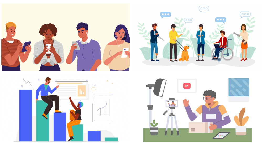 SEJ blog headers Graphic Design Trends 2022
