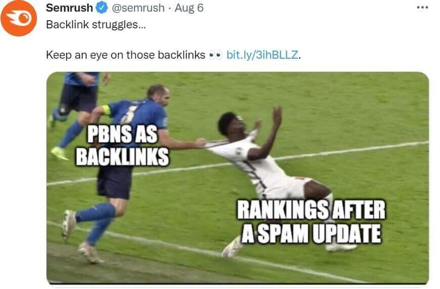 SEMRush Twitter 2