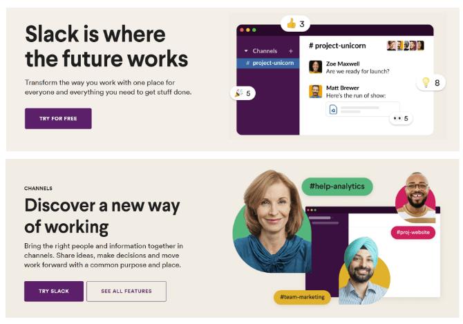 Slack LPs Graphic Design Trends 2022 inclusive visuals