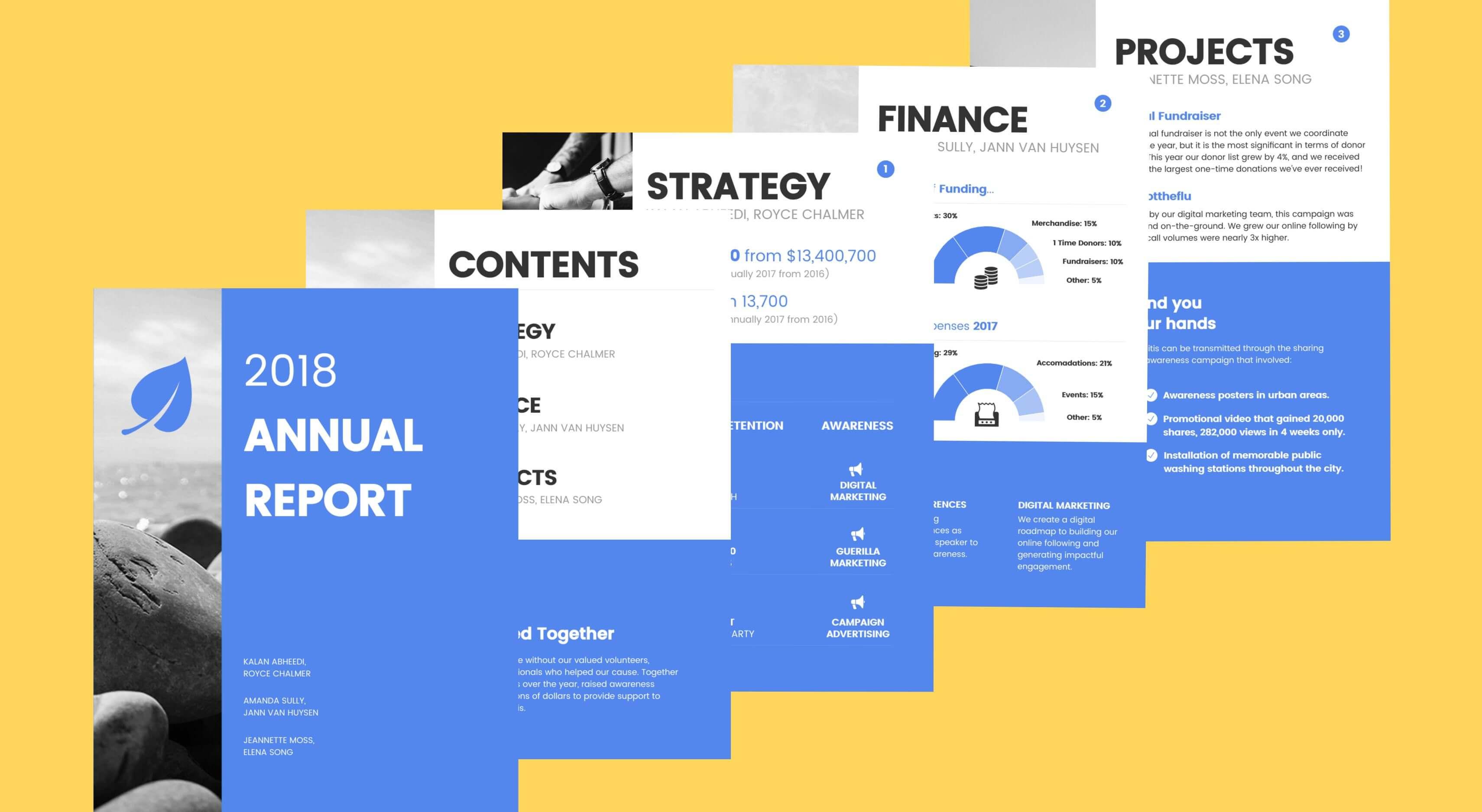 annual-report-design-templates