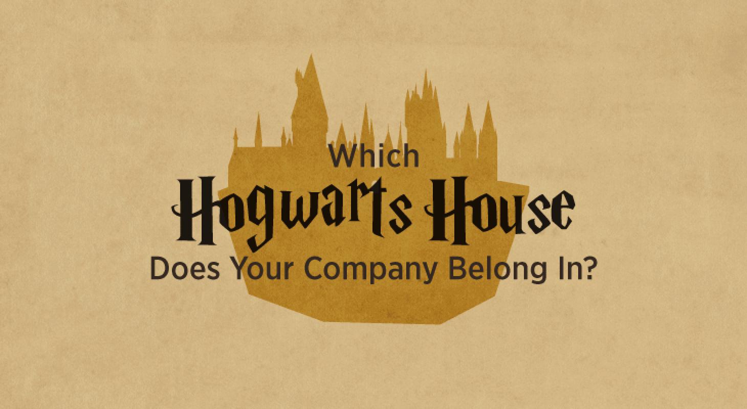 Infographics: Hogwarts House Company Culture