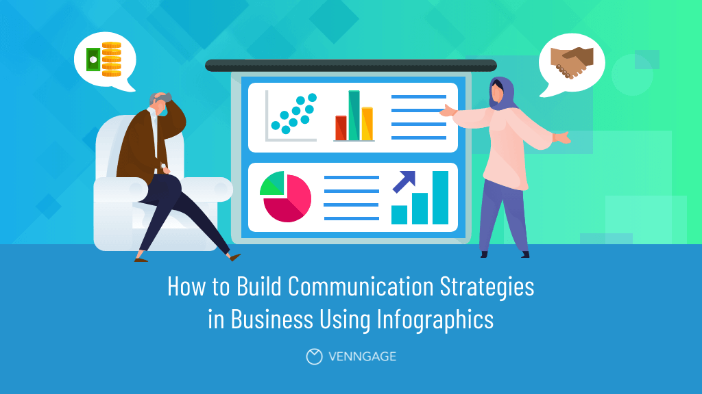 How to Build Communication Strategies in Business Using Infographics Blog Header