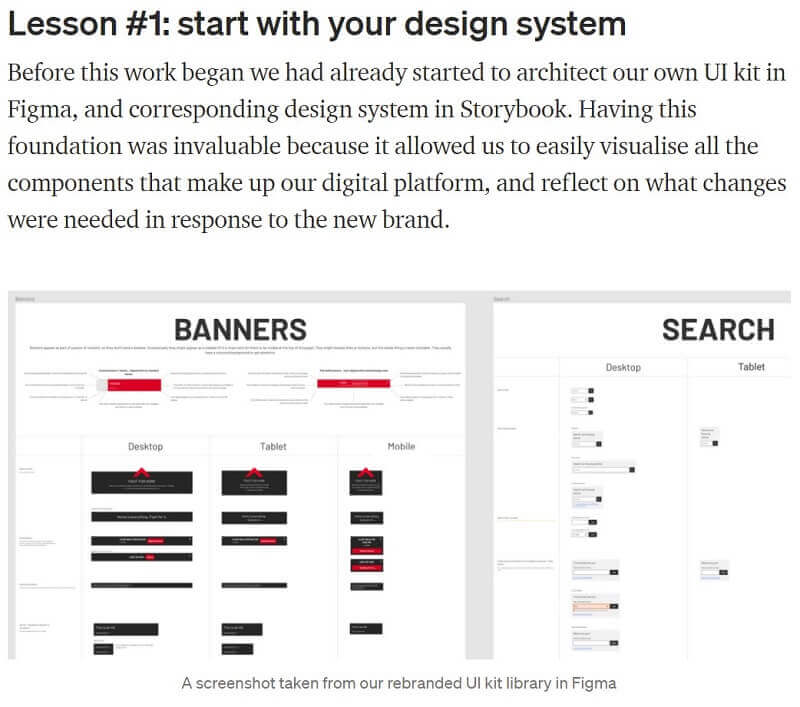 What is a case study in research? UX Design case study example
