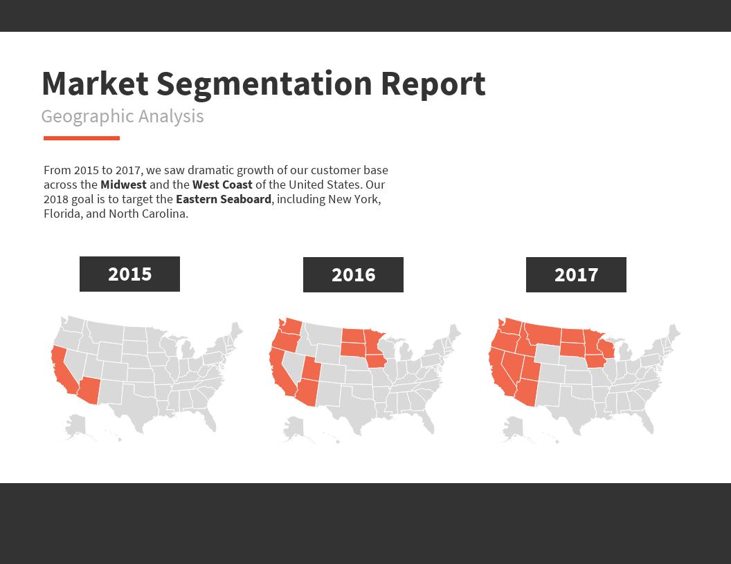 Market Segmentation Map Template